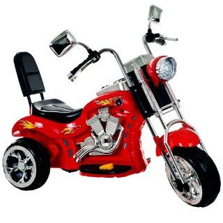 Lil Rider Rocking 3 Wheel Chopper Motorcycle, Red Toys & Games