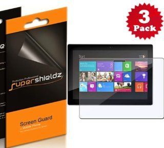 SUPERSHIELDZ  Premium Anti Glare (Matte) Screen Protector For Microsoft Surface Windows RT/Pro + Lifetime Replacements Warranty [3 PACK]   Retail Packaging Cell Phones & Accessories