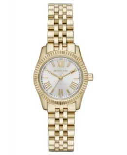 Michael Kors Womens Petite Camille Gold Tone Stainless Steel Bracelet Watch 26mm MK3252   Watches   Jewelry & Watches