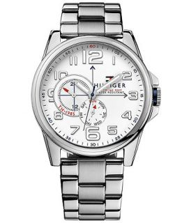 Tommy Hilfiger Mens Stainless Steel Bracelet Watch 46mm 1791006   Watches   Jewelry & Watches
