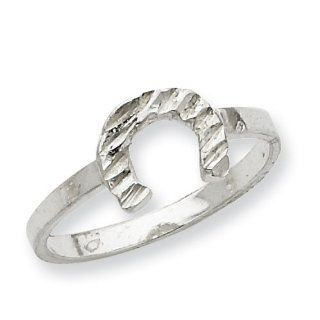 Sterling Silver Horseshoe Ring Jewelry