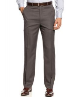 Michael Michael Kors Flat Front Dress Pants   Pants   Men