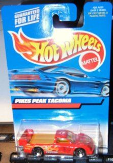 #2000 148 Pikes Peak Tacoma Red intake Collectible Collector Car Mattel Hot Wheels Toys & Games