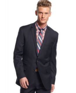 Bar III Carnaby Collection Navy Pinstriped Suit Separates Slim Fit   Suits & Suit Separates   Men