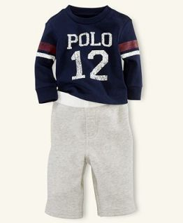 Ralph Lauren Baby Set, Baby Boys Graphic Shirt and Pants   Kids