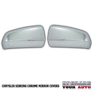 2007 2010 Chrysler Sebring Chrome Mirror Covers Automotive