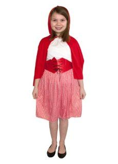 Little Red Riding Hood Childs Fancy Dress Costume M 134cms Toys & Games