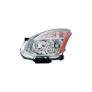Nissan Rogue 09 10 Headlight Assembly Halogen LH USA Driver Side CAPA Automotive
