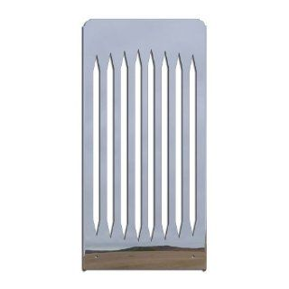 Ferreus Industries   Suzuki Boulevard C50 M50 Volusia 800 Blade Polished Stainless Radiator Grille   GRL 123 10 Automotive