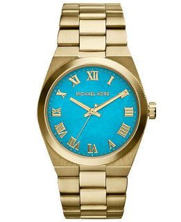Michael Kors Womens Channing Gold Tone Stainless Steel Bracelet Watch 38mm MK5894   Watches   Jewelry & Watches