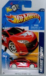 Hot Wheels 2012 122 HW All Stars '12 MEGANE Trophy RED 164 Scale SCAN & TRACK Card Toys & Games