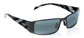 Maui Jim MJ 122 02 NALU sunglasses Gunmetal Black w/ Neutral Grey Lens Clothing