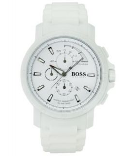Emporio Armani Watch, Mens Chronograph White Ceramic Bracelet AR1403   Watches   Jewelry & Watches