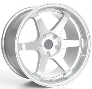 Miro Type 398 18 Silver Wheel / Rim 5x4.5 with a 20mm Offset and a 73.1 Hub Bore. Partnumber W398.825311 Automotive