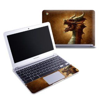 Red Dragon Design Protective Decal Skin Sticker (Matte Satin Coating) for Samsung Chromebook 116 inch XE303C12 Notebook Computers & Accessories