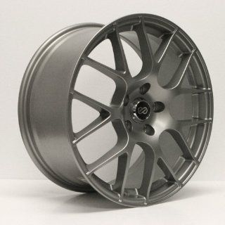"Enkei RAIJIN  Tuning Series Wheel, Titanium Gray (18x8.5""   5x114.3/5x4.5, 35mm Offset) One Wheel/Rim Automotive"