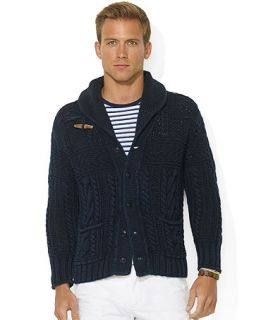Polo Ralph Lauren Shawl Collar Cotton Cardigan   Sweaters   Men