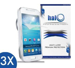 Halo Screen Protector Film Clear Matte (Anti Glare) for Samsung Galaxy S4 Zoom (3 Pack)   Lifetime Replacement Warranty Cell Phones & Accessories