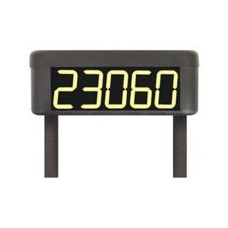 STI 30325 Solar Powered Lighted House Number, Weatherproof   Illuminated House Number Sign