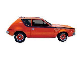 1970 1971 AMC American Motors Gremlin Version 2 Decals & Stripes Kit   RED Automotive