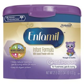 Enfamil Gentlease Infant Formula Powder Tub   21