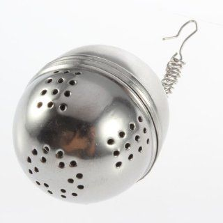 Boboshop Stainless Steel Tea Locking Spice Egg Shaped Ball Kitchen & Dining