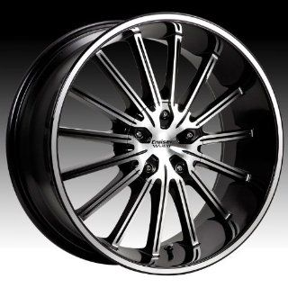 Cruiser Alloy Attack 16x7.5 Machined Black Wheel / Rim 5x100 & 5x4.5 with a 38mm Offset and a 73.00 Hub Bore. Partnumber 910MB 6751838 Automotive