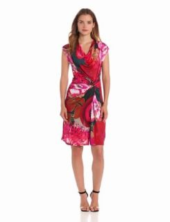 Desigual Women's Sleeveless Azucena Dress, Red, X Small