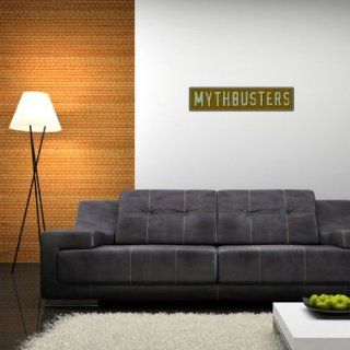 "Mythbusters Wall Graphic Decal Sticker 28"" x 7""   Wall Decor Stickers"