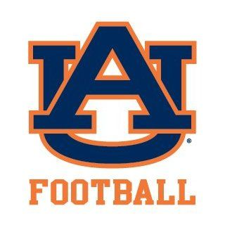 Auburn Tigers FOOTBALL Clear Vinyl Decal Car Truck Sticker AU