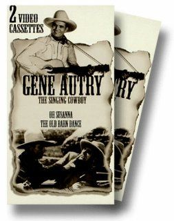 Oh Susanna & Old Barn Dance [VHS] Gene Autry, Smiley Burnette, Frances Grant, Earle Hodgins, Donald Kirke, Boothe Howard, The Light Crust Doughboys, Champion, Clara Kimball Young, Edward Peil Sr., Frankie Marvin, Carl Stockdale, Ernest Miller, William