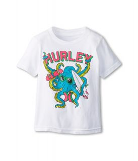 Hurley Kids Octo Tee Boys T Shirt (White)