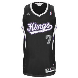 NBA Sacramento Kings Black Swingman Jersey Jimmer Fredette #7  Sports Fan Jerseys  Sports & Outdoors