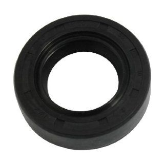 Black NBR TC Double Lip Rotary Shaft Oil Seal 22mm x 38mm x 10mm