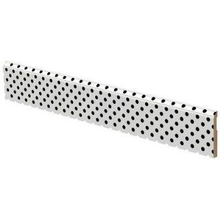 Polka Dots Wall Trim Color Black on White   Nursery Wall Decor