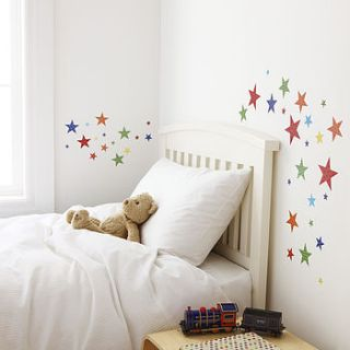childrens bright star wall stickers by kidscapes wall stickers