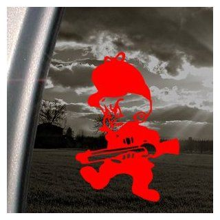 Elmer Fudd Hunting Red Decal Car Truck Window Red Sticker   Themed Classroom Displays And Decoration