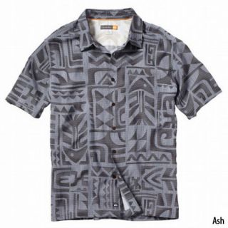 Quiksilver Mens Tama Reef Short Sleeve Shirt 716639