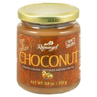 Rapunzel Choconut Certified Organic Chocolate Hazelnut Butter, 8.8 Ounce Jars (Pack of 6)  Jams And Preserves  Grocery & Gourmet Food