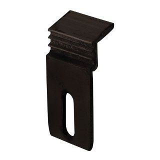 Prime Line Products E 2133 Ador/Hilite Number 1200 Sliding Door Panel Clips, Bronze   Door Hardware