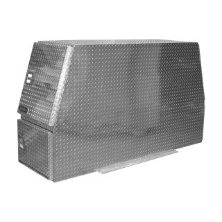 Buyers Products Aluminum Heavy-Duty Backpack Truck Box — Diamond Plate, 82in.L x 46in.W x 24in.H, Model# BP824624  Rack Boxes