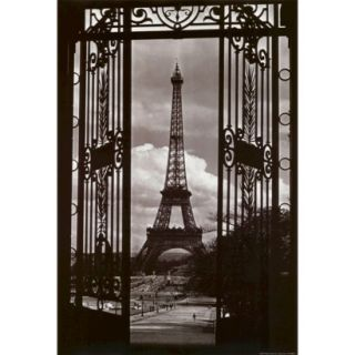 Art   Eiffel Tower Through Gates