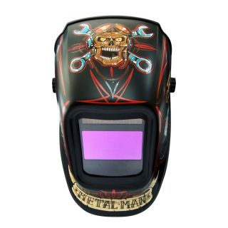 Metal Man ABR7800SG Bad Rod 9 13 shade Industrial Large Window Auto Darkening Welding Helmet