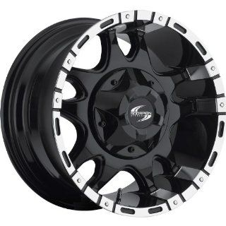 Scorpion SC7 17 Black Wheel / Rim 8x170 with a 12mm Offset and a 130.8 Hub Bore. Partnumber SC7 1798170+12BM Automotive