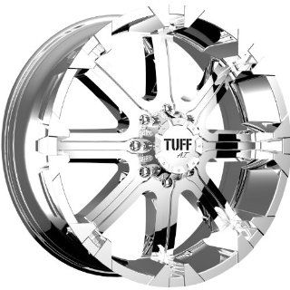 Tuff T13 17 Chrome Wheel / Rim 6x5.5 with a  13mm Offset and a 108.0 Hub Bore. Partnumber T13GK6M13C108 Automotive