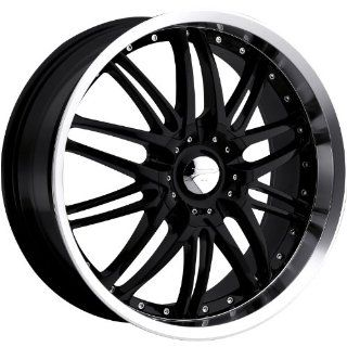 Platinum Apex 16 Black Wheel / Rim 5x120 & 5x112 with a 20mm Offset and a 74 Hub Bore. Partnumber 200 6722B+20 Automotive