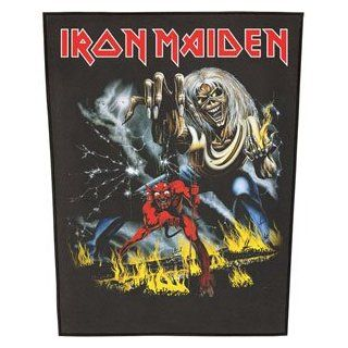 Iron Maiden Number Of The Beast Back Patch Clothing