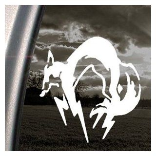 METAL GEAR Decal KOJIRA FOXHOUND SNAKE Car Sticker   Automotive Decals