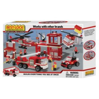 Best Lock Fire Rescue Building Set   750 Piece