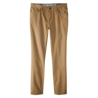 Mossimo Supply Co. Mens Slim Straight Fit Twill